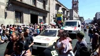 preview picture of video 'TORITOS DE PETATE desfile en Morelia'