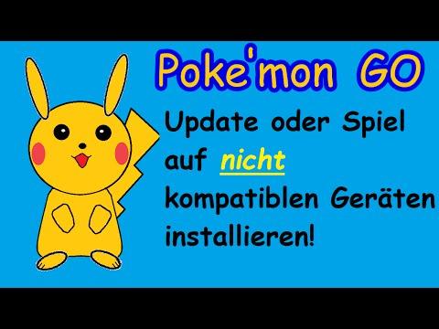 Pokemon GO Update oder Spiel für Samsung Galaxy S5 mini S3 und Amazon Fire APK installieren