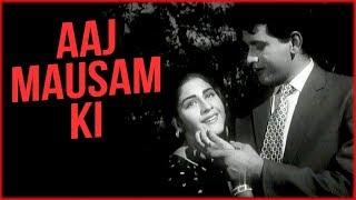 Aaj Mausam Ki Masti Full Video Song | Banarsi Thug Movie Songs | Lata Mangeshkar | Mohammed Rafi