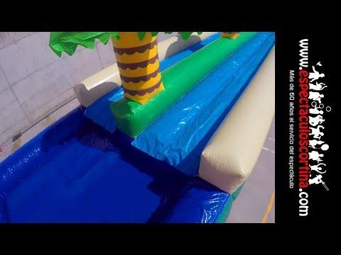 Deslizador Acuático Barcelona - Hinchables de Agua