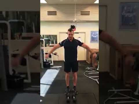 Side Lateral Raises with Dumbbells