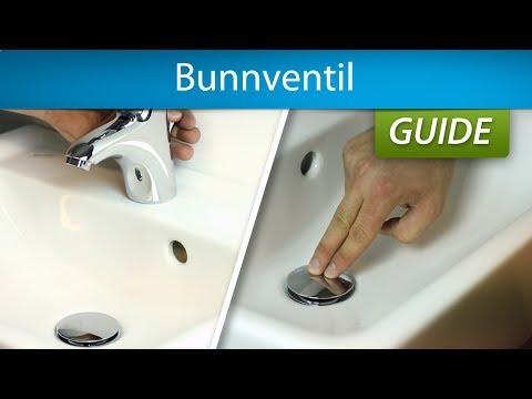 bunnventil badekar Kjøp Hansgrohe push open Bunnventil 1 1/4