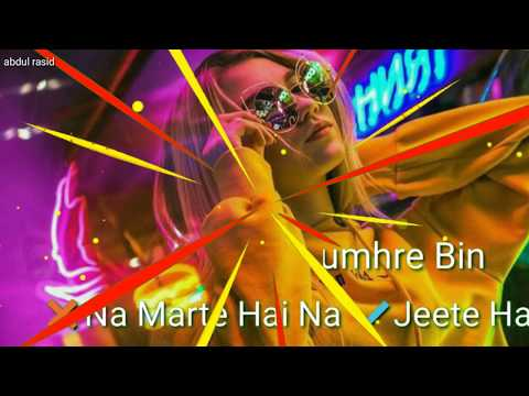 Download Whatsapp Status Romantic Song Hamara Haal Na Pucho