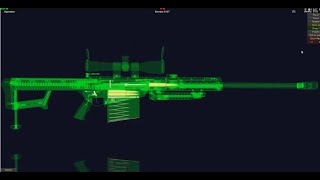 How Does Barrett M107 Sniper Rife Work In 3D Animation