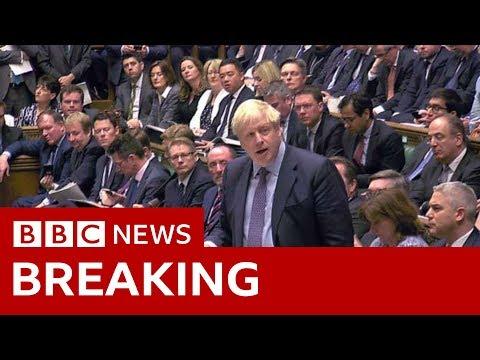 In full: Boris Johnson's Brexit statement - BBC News