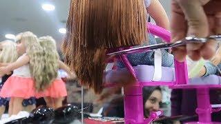 Kuaför Trolledik ! Oyuncak bebeklerime Kuaförde Saç bakımı ve Makyaj yaptırıdım Bidünya Oyuncak