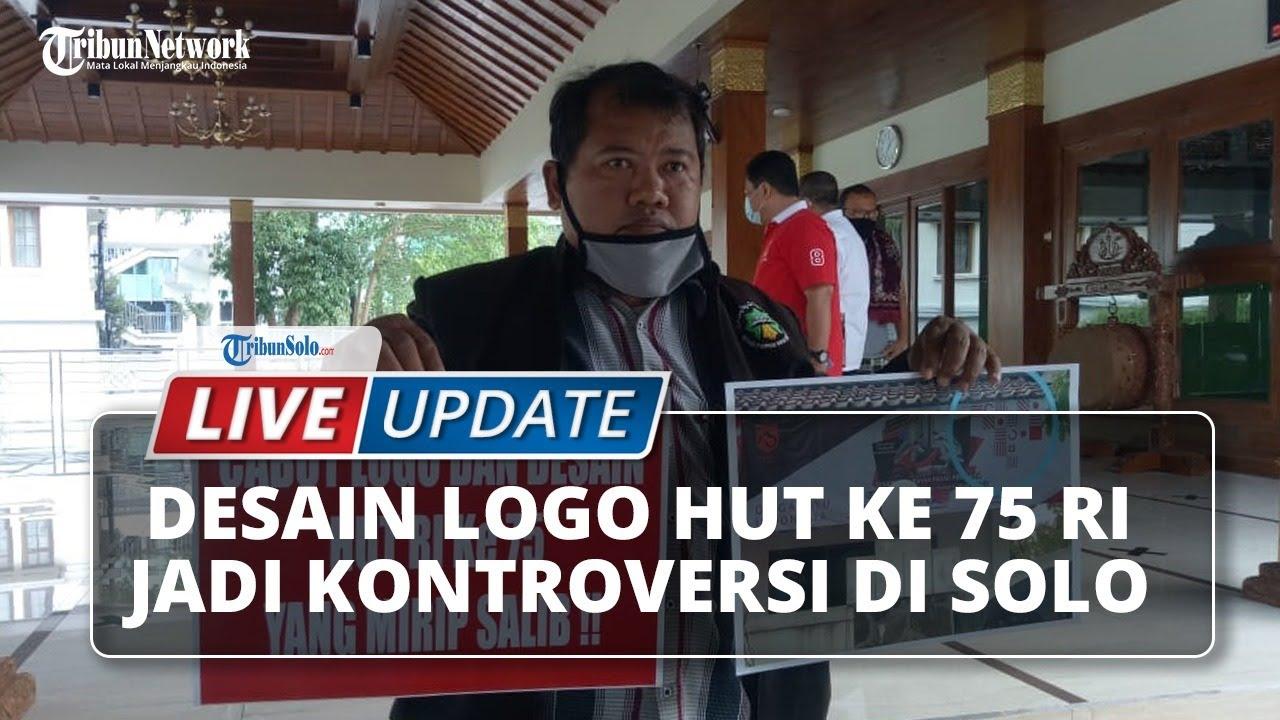 LIVE UPDATE: Desain Logo HUT ke-75 RI Diprotes Ormas di ...