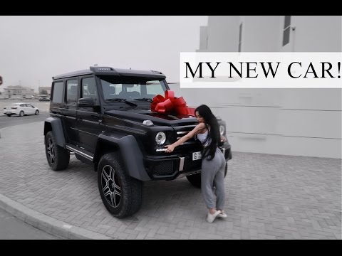 MY NEW CAR || MERCEDES G500 4×4²!!