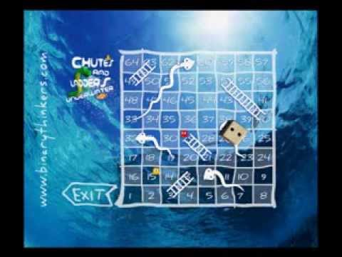 Video of Chutes and Ladders Underwater!