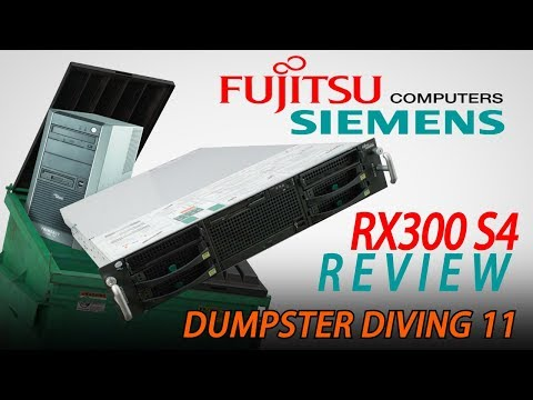 Dumpster Diving - Fujitsu Siemens RX300 S4 Server Review