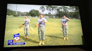 ZHS JROTC on Bay News 9