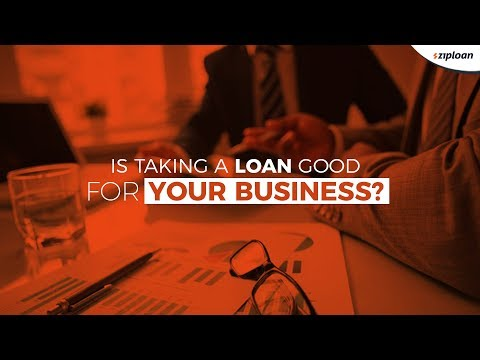 , title : 'Is taking a loan good for your business?