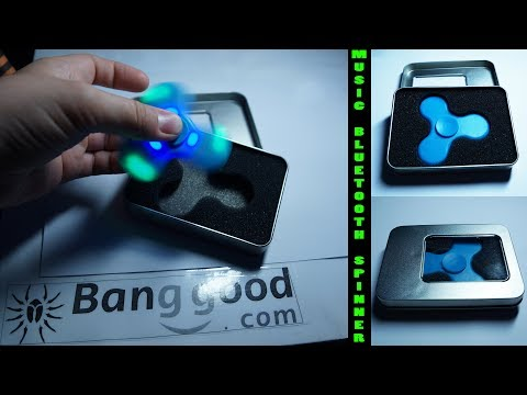 ECUBEE Bluetooth LED Spinner from Banggood