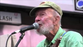 Pete Seeger - My Rainbow Race (at Ecofest 2013 NYC)