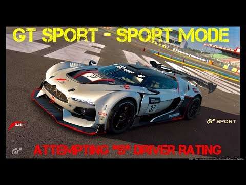 GT Sport - Sport Mode - (Trying For S Rating)