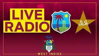 🔴LIVE RADIO | West Indies v Pakistan | 5th CG Insurance T20I