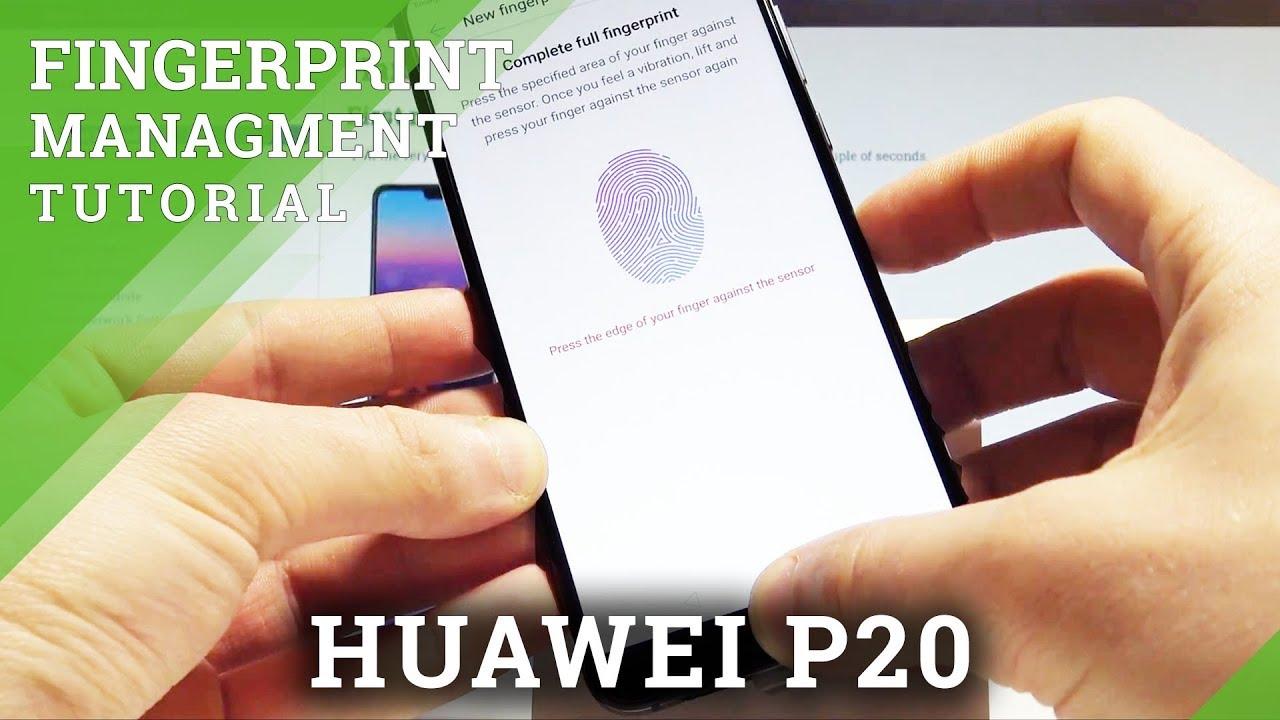 huawei mate 20 fingerprint