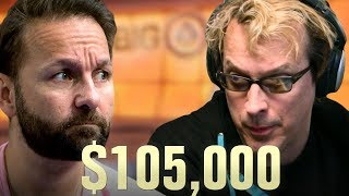 Daniel Negreanu BLOWS Phil Laak's MIND - High Stakes Poker Cash Game