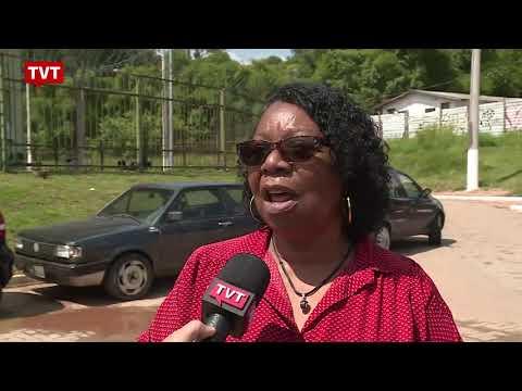 Dirigente do Sindsep mostra para a TVT condições de trabalho do SAMU em duas unidades da Zona Sul