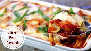 Chicken Pasta Casserole - 5 Ingredients