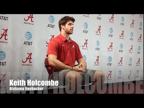 Alabama LB Keith Holcombe - Vanderbilt week