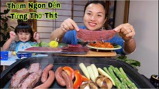 Lần Đầu Ăn Thử Set Thịt Đà Điểu Tưởng Ko Ngon Mà Thơm Ngon Đến Từng Thớ Thịt #460