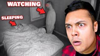 This Man Keeps Watching Her Sleep at Night