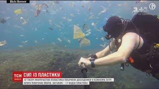 У кожному літрі криги північних морів дослідники знайшли 12 тисяч мікрочастин пластику