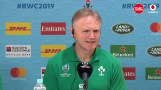 "Joe Schmidt and Rory Best | ""I don't have an excuse for it"""