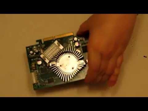 Limpiar y Lubricar Ventilador de Tarjeta Gráfica para Eliminar Ruidos