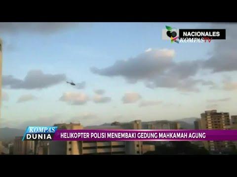 Helikopter Polisi Venezuela Tembaki Gedung Mahkamah Agung