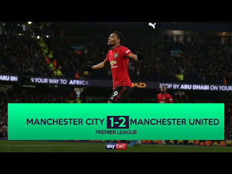 Manchester City 1-2 Manchester United | MARTIAL & RASHFORD SEAL 3 POINTS IN THE DERBY!