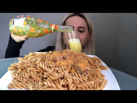 BEEF STROGANOFF PASTA AND MIMOSAS!! MUKBANG 먹방 SASSESNACKS BLOVES AND EAT WITH QUE ETC TALK!
