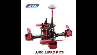 Jjpro P175 первый обзор на русском языке. FPV квадрокоптер, первый полет.