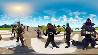 FORTNITE 360  VR Music Dance in Virtual Reality for VR BOX 360 4K