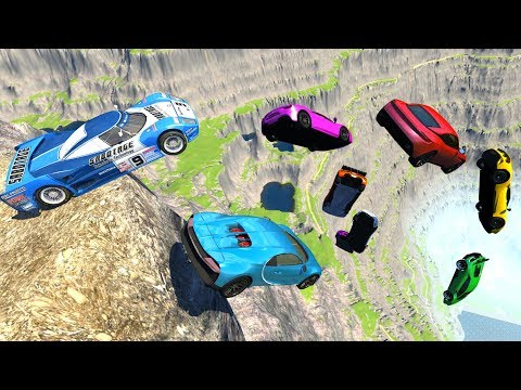 BeamNG.drive - Cliffs Of Death #13 (No Music)