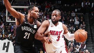 Miami Heat Vs Brooklyn Nets   Full Game Highlights | April 10, 2019 | 2018 19 NBA Season