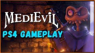 MediEvil ремастер на PS4 - 10 минут геймплея с комментариями