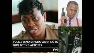 Police Warns Dexta Daps, Alkaline, Masicka | About Gvns In Videos