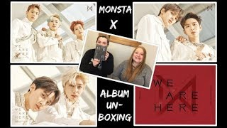 Monsta X - Take.2 We Are Here! Caitlyn's First Album Purchase and Unboxing!