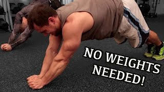 Intense 10 Minute FULL UPPER BODY At Home Workout