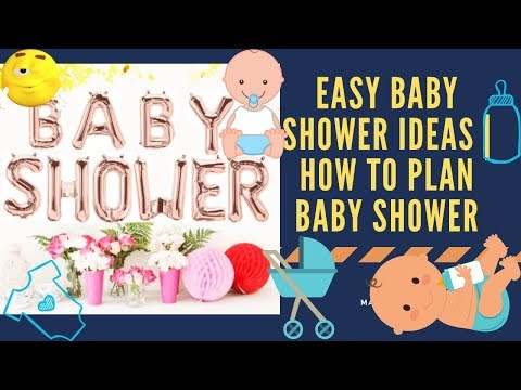 Easy Baby Shower Ideas || How to Plan Baby Shower || Baby Shower Decorations