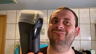 Braun series 3 Elektrorasierer gegen meinen 4 Tage Bart Braun series 3 shaver VS 4 days beard test