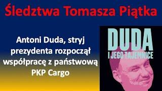 Co prezydencki stryj robi w państwowej PKP Cargo?