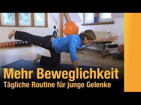 Gitta Mikrobewegung Gymnastik in Osteochondrose