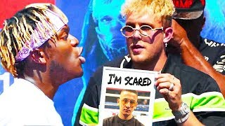 KSI CONFRONTS JAKE PAUL ABOUT OUR FIGHT!!