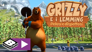 Grizzy e i Lemming | Il Fitness Center | Boomerang