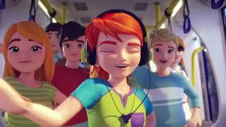 LEGO Friends- Kalbindeki Dünyayı Yarat- Muzik Videosu