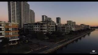 Sydney Rhodes NSW Evening By Drone DJI Phantom 4