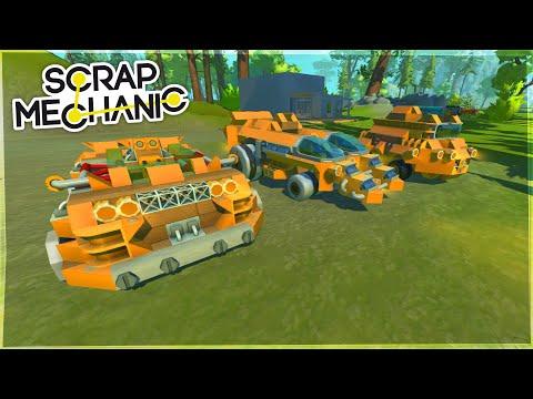 Meșterul Trex   Episodul 672   - Scrap Mechanic